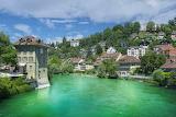 Aare river, Berna, Switzerland