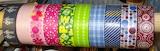 Colorful ribbon patterns