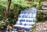 Waterfall in Rostrevor forest