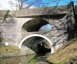 double-arched bridge at East Marton
