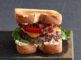 ^ BLT Burgers with Bacon Mayonnaise