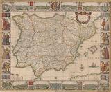 Mapa orlado, siglo XVII