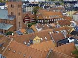 Aalborg from above, Denmark