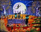 Witches - Folk Art Halloween
