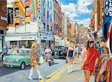 Carnaby Street in the 60s - Trevor Mitchell