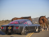 Highly modified '65 Ford Mustang. 1000 h.p.