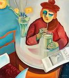 Bo von Zweigbergk , Woman in café, 1921
