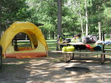Camp Time at Crow Wing State Park