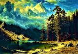 Mount Corcoran-Albert Bierstadt