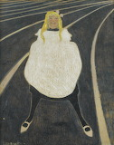 Léon Spilliaert, Petite fille en blanc, 1912