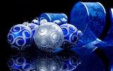 Blue & silver ornaments 2