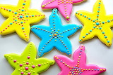 Starfish cookies @ Rebecca Cakes and Bakes