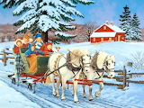 Winter-Sleigh-Ride-Painting-John-Sloane