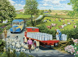 A Country Bus Route - Trevor Mitchell