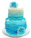 Ruffle cake @ Pink Cake Box University