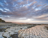 September Somerset Sunrise at Lilstock Beach