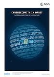 "Space ESA Poster ""Cybersecurity in orbit"" ""© ESA"""