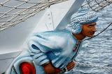 Figurehead of the Tall Ship 'Shabab Oman' photo by Dim Leventis