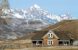 Wyoming Ranch Home