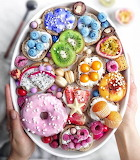 Colorful Food Platter