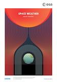 "Space ESA Poster ""Space Weather"" """"© ESA"""