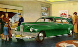 Showroom~ Packard Clipper1946 vintage ad