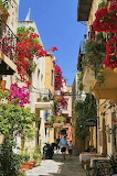 Small back street in Chania