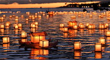 #Tōrō Nagashi- Japanese Lantern Ceremony