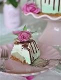 Pear lime torte