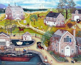Old town by the sea - Linda nelson stocks
