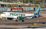 Frontier airlines tortise plane