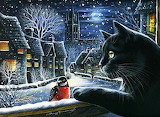 Silent Night by Irina Garmashova-Cawton