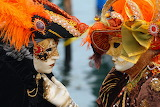 Venice Carnival - Masked Lovers