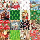 #Christmas Art Collage