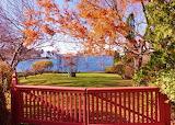 End of the Autumn Season New Castle New Hampshire USA
