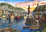 English Harbor Sunset~ Dominic Davison