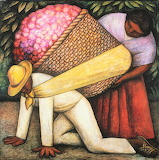 the flower carrier, Diego Rivera