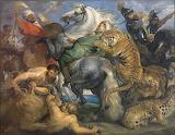 Rubens - La chasse au tigre