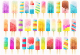 #Popsicle Watercolor