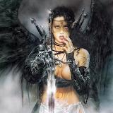 Black Fantasy Sword