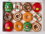 ^ Krispy Kreme Christmas Donuts