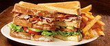 ^ Triple Decker Turkey Club with fries