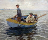 In The Whiting Ground by Harold Harvey 1900