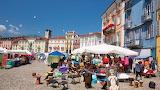 Locarno market in the big square