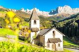 beautiful country church