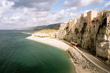 Cliff at Tropea, Italy, Sep 2005