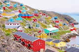 #Colorful Houses Greenland