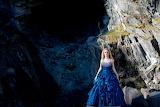 Slate, Blue Dress