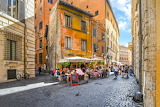Old Rome, alley, tavern, restaurant, people