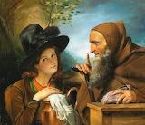 The Hermit & the Girl~ François Joseph Navez fine art